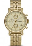 Fossil Ladies Dress Chronograph Stainless Steel
