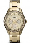 Fossil Ladies Stella Multifunction Stainless Steel