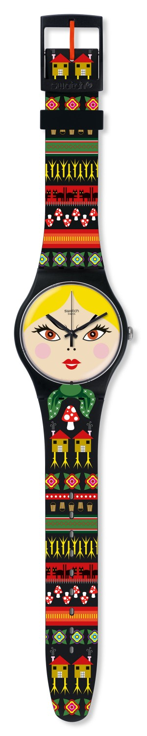 Swatch Russian Beauty