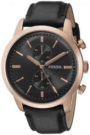 Fossil Townsman Chronograph Leather Watch