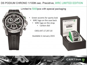 Certina DS Podium Big Chrono WRC