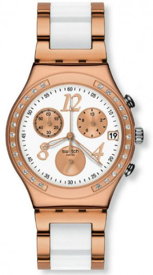 Swatch Irony Chrono Dreamwhite Rose