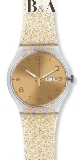 Swatch Golden Sparkle