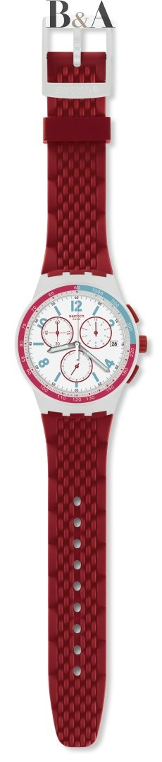 Swatch Red Track
