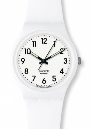 Swatch Just White