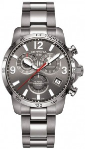 Certina DS Podium Chronograph GMT Titanium