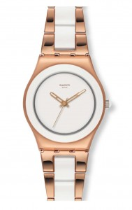 Swatch Irony Medium Rose Pearl