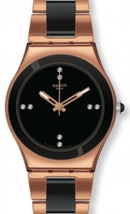 Swatch Rose Pearl Black