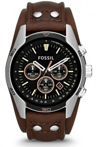 Fossil Coachman Chronograph Leather - Brown