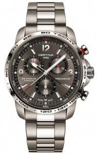 Certina DS Podium Big Chrono Titanium