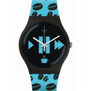 Swatch Coffee Blue-s