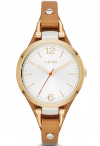 Fossil Georgia Three Hand Leather