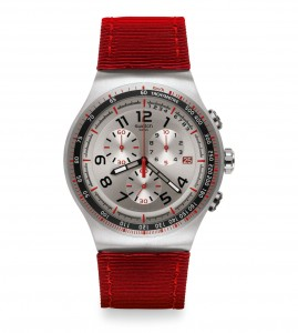 Swatch Irony Chrono Red Snair