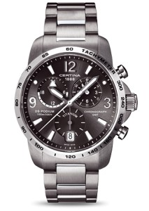 Certina DS Podium Chrono GMT Titanium