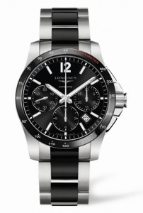Longines Conquest Column-Wheel Chronograph