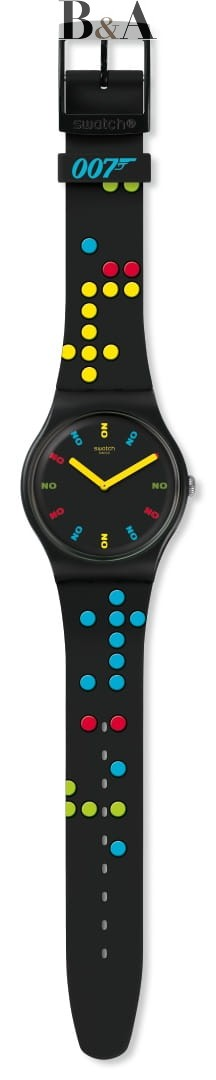 Swatch DR NO 1962  SUOZ302