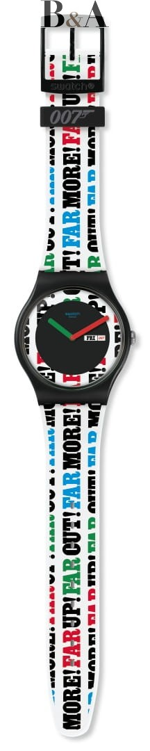 Swatch ON HER MAJESTY'S SECRET SERVICE 1969  SUOZ715