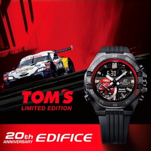 Casio Edifice TOM's Limited Edition 20th Anniversary ECB-10TMS-1AER