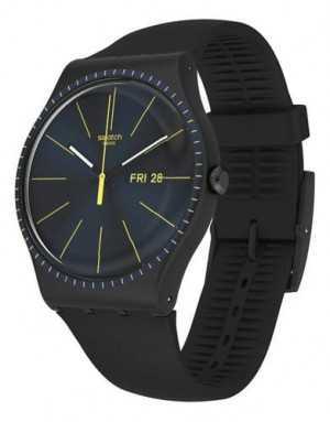 Swatch Black Rails SUOB731