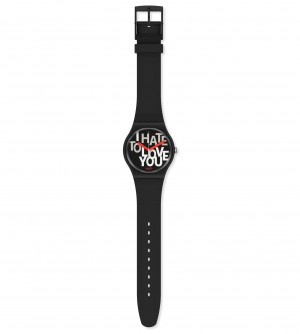 Swatch Hate 2 Love SUOB185