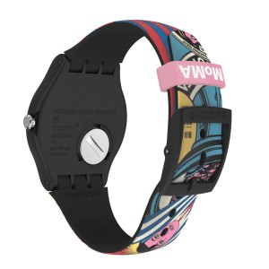 Swatch MOMA THE CITY AND DESIGN, THE WONDERS OF LIFE Limited Edition SUOZ334