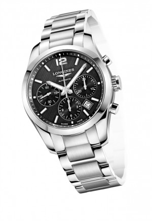 Longines Conquest Classic Column-Wheel Chronograph
