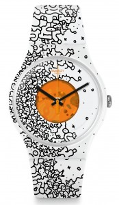 Swatch Orange Pusher  SUOW167