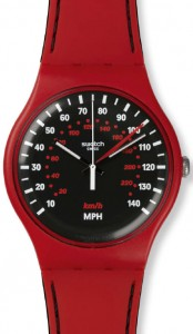 Swatch Red Brake SUOR104