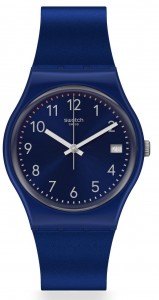 Swatch Silver In Blue GN416