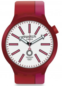 Swatch BIG BOLD KURENAI RED TOKYO 2020 OLYMPICS SPECIAL EDITION  SO27Z101