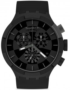Swatch BIG BOLD CHECKPOINT BLACK SB02B400
