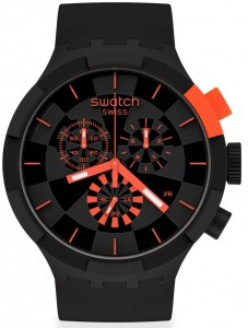 Swatch BIG BOLD CHECKPOINT RED SB02B402