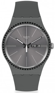 Swatch Grey Rails SUOM709