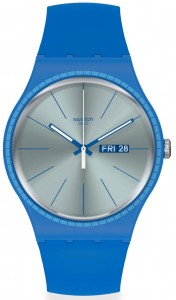 Swatch Blue Rails SUON714