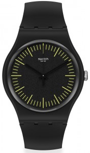 Swatch Blacknyellow SUOB184