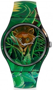 Swatch MOMA THE DREAM BY HENRI ROUSSEAU Limited Edition SUOZ333