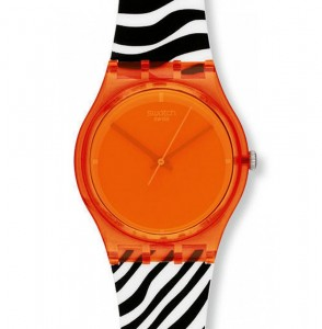 Swatch Orange GO107