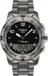 Tissot T-Touch II Brushed Titanium