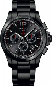 Longines Conquest V.H.P. Chrono Black L3.727.2.56.6